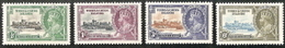 Turks & Caicos,  Scott 2018 # 71-74,  Issued 1935,  Set Of 4,  MLH,  Cat $ 8.40,  George V - Turks And Caicos