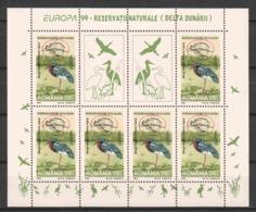 Romania 1999 Kleinbogen Mi 5415 MNH EUROPA CEPT - BIRDS - Vogels