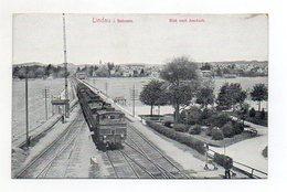 XX001273/ Lindau Blick Nach Aeschach  Eisenbahn AK Ca.1912 - Germany