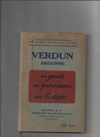 VERDUN Argonne Guide Michelin 1931 Régionalisme Guerre 14 18 - Livres, Revues & Catalogues