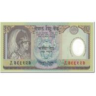 Billet, Népal, 10 Rupees, 2002, Undated (2002), KM:45, NEUF - Népal