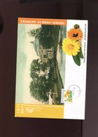Belgie 2008 Rolzegel 3824 2011  Herdenkingskaart Tienen Tagetes Flowers Andre Buzin - 1985-.. Oiseaux (Buzin)