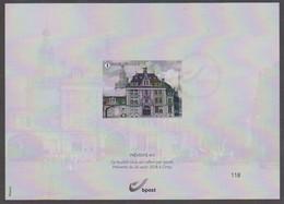2018 - Prévente 4/5 Ciney - Places De La Ville De Namur - N°118/400 - MNH XX - Zwarte/witte Blaadjes