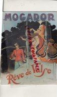 75 - PARIS- PROGRAMME THEATRE MOGADOR-REVE DE VALSE-HENRI VARNA-MARCEL MERKES-PAULETTE MERVAL-CASTEL-FREDERIQUE-FAVRY- - Programmes