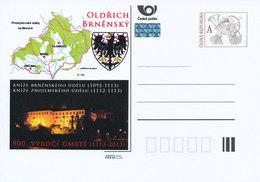 Rep. Ceca / Cart. Postali (Pre2013/01) 900 ° Ann. Della Morte Del Principe Ulrico I, Duca Di Moravia, Parte Di Brno - Geografia