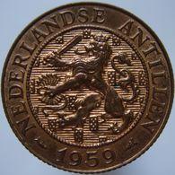 Netherlands Antilles 2 1/2 Cent 1959 AUNC / UNC - Antilles Neérlandaises