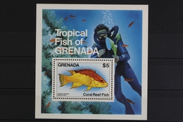 Grenada, Fische / Meerestiere, MiNr. Block 126, Postfrisch / MNH - Grenada (1974-...)