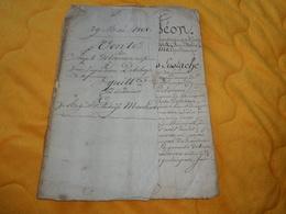 DOCUMENT MANUSCRIT ANCIEN DE 1808. / VENTE. NAPOLEON PAR LA GRACE DE DIEU...AMFREVILLE LA CAMPAGNE DEPT. DE L'EURE... - Manuscripts