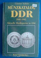 Günter Schön Münzkatalog DDR 1948-1990, Coin Catalog - Books & Software