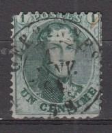 BELGIE 1863   OBP  13A  Perf  12.5x13.5 ,    Used/VF  ,  See Scan      [1848  ] - 1863-1864 Medaglioni (13/16)
