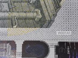 EURO GERMANY 5 W001 A1 UNC DRAGHI - EURO