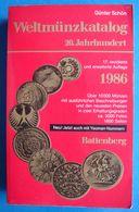 Günter Schön; Weltmünzkatalog 1986 - Coin Catalog - Books & Software
