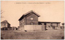 62 ROEUX - Avant La Terrible Guerre - La Gare - Autres Communes