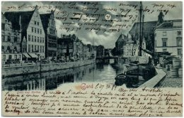 GAND - Quai Aux Herbes - 1899 - Gent