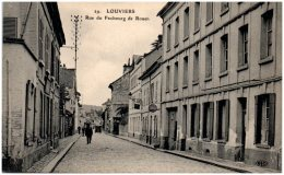 27 LOUVIERS - Rue Du Faubourg De Rouen - Louviers