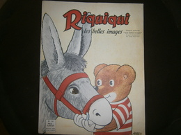 RIQUIQUI  LES BELLES IMAGES N 161   ANNEE 1962 - Unclassified