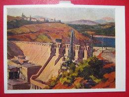 1960 Albania. Gidrotsentral To Them. K. Marx - Zaitsev - Albanie