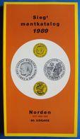 Sieg Montkatalog Norden 1989 - Coin Catalog - Books & Software