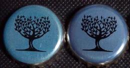 2 Fevertree Kronkorken London UK BLUE Craft-soda Water Beverage Mix Tree Bottle Crown Caps, Chapas Gaseosa, Capsules Eau - Soda