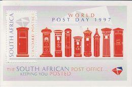 South Africa 1997 World Post Day (postboxes) M/s ** Mnh (40476) - Blokken & Velletjes