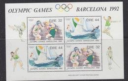 Ireland 1992 Olympic Games Barcelona M/s ** Mnh (40478) - Zomer 1992: Barcelona