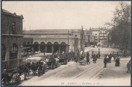 Lot 1 De 61 CP France , Gares , Trains , Tramways , Autobus , Tous Les Scans Dans L'annonce - Cartes Postales