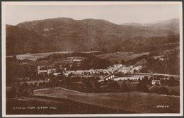 Dunkeld From Birnam Hill, Perthshire, 1929 - Valentine's RP Postcard - Perthshire