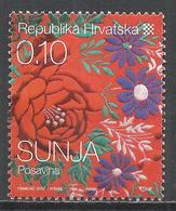 Croatia 2008. Scott #700 (U) Details From Native Costume, Sunja * - Croatie