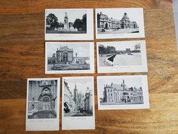 """Lot 7 CP's Tournai VED/Vandamme """"La Gare, Le Pont Aux Trous, Jules Bara, Hôtel De Ville, ..."""" - Tournai"""