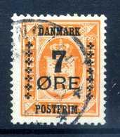 1926 DANIMARCA N.174 USATO - 1913-47 (Christian X)