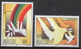 Malta 1995 Set Of Stamps To Celebrate Europa Peace And Freedom. - Malta