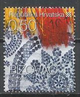 Croatia 2008. Scott #702 (U) Details From Native Costume, Bizovac * - Croatie