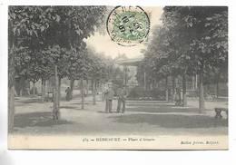 70 - HERICOURT - Place D' Armes. Personnages. Carte Adressée à St-Loup-sur-Semouse - Andere Gemeenten