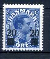 1926-27 DANIMARCA N.173 * - 1913-47 (Christian X)