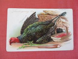 Embossed  Tuck SeriesThanksgiving Signed Artist    Ref 3064 - Thanksgiving
