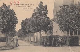 Manthelan.  Avenue De La Gare - France