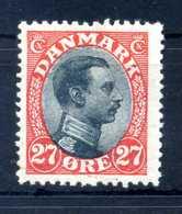 1918-20 DANIMARCA N.108 * - 1913-47 (Christian X)