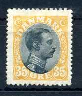 1918-20 DANIMARCA N.110 * - 1913-47 (Christian X)