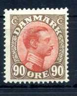 1918-20 DANIMARCA N.115 * - 1913-47 (Christian X)