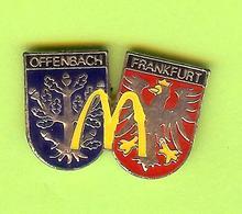 Pin's Mac Do McDonald's Offenbach Frankfurt  - 9G01 - McDonald's