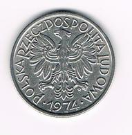 =&  POLEN  2  ZLOTE  1974 - Pologne