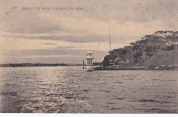 Lighthouse, Bradley's Head, Sydney, New South Wales - Vintage PC Unused - Sydney