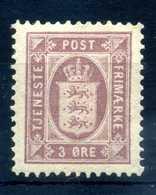 1875 DANIMARCA SERVIZIO 3o.* - Servizio