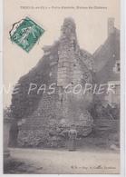 CPA TROO 41 PORTE ENTREE RUINES DU CHATEAU - France