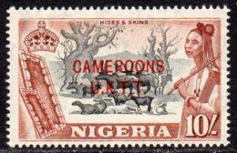 Cameroon 1960 UK Trust Territory Overprint On Nigeria, 10/- Value, MNH, SG T11 - Cameroon (1960-...)