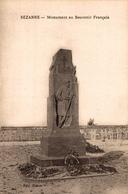 SEZANNE     MONUMENT AU SOUVENIR FRANCAIS   ****   RARE  A  SAISIR ***** - Sezanne
