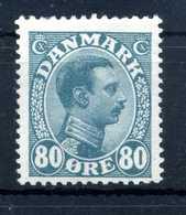 1913-18 DANIMARCA N.81 * - 1913-47 (Christian X)