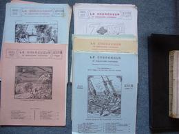 Le Chercheur De Publications D'autrefois Romans Populaires  Lot De 22 Numeros Lagneau Dufournet - Books, Magazines, Comics