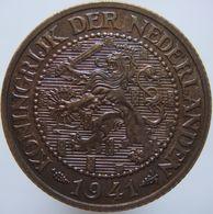 Netherlands 2 1/2 Cent 1941 UNC - [ 3] 1815-… : Regno Dei Paesi Bassi