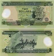 SOLOMON IS.        2 Dollars       Comm.     P-23       (20)01       UNC - Solomon Islands